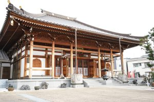 Japanese Buddhism and the Ennouin temple in Kawasaki City, Kanagawa Prefecture