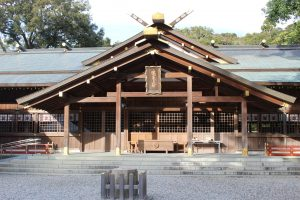 Sarutahiko Shrine, Dedicated to Kami who Guide Worshippers in a Positive Direction