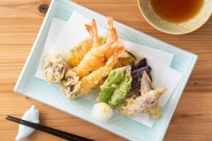 Traditional  Japanese Treat, Tempura